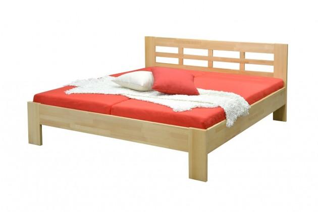 Drevená posteľ Rám postele Vegas - 180x200 cm (olej)