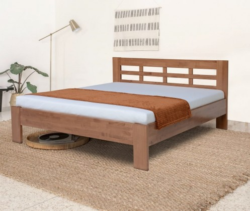 Drevená posteľ Rám postele Vegas 180x200, slivka