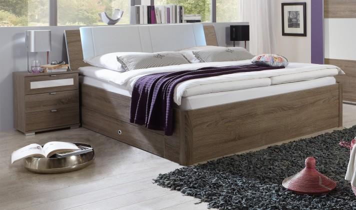Drevená Relax - posteľ s úložným priestorom (montana)