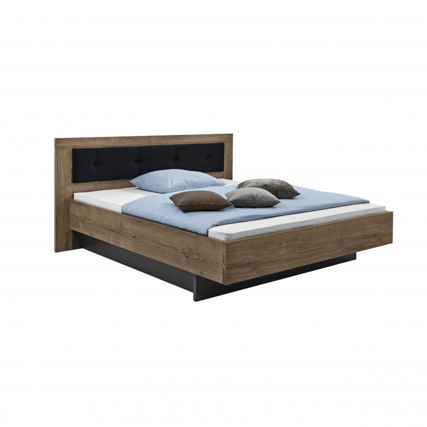 Drevená Tender - 5774320 (divoký dub antický/feelwood/antracit)