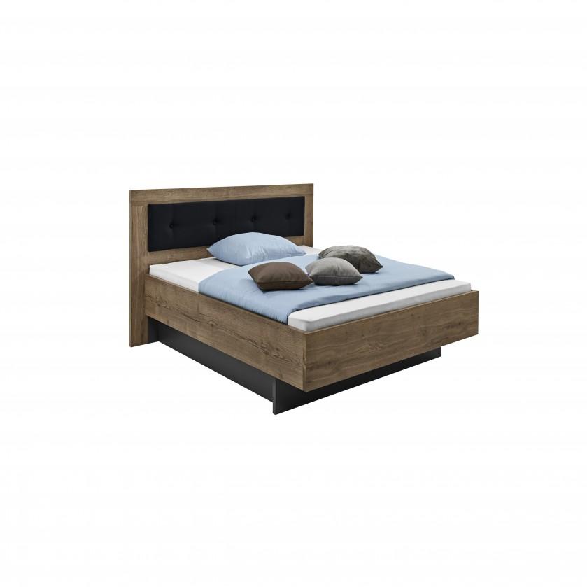 Drevená Tender - 5774360 (divoký dub antický/feelwood/antracit)
