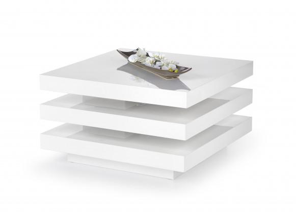 Drevené konferenčné stolíky Ingrid - konferenčný stolík (bielá)