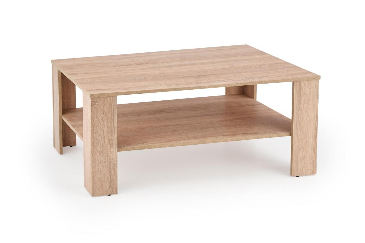 Drevené konferenčné stolíky Konferenčný stolík Kwadro (sonoma)