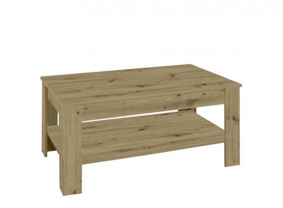 Drevené konferenčné stolíky Konferenčný stolík Nive - obdĺžnik (dub artisan)