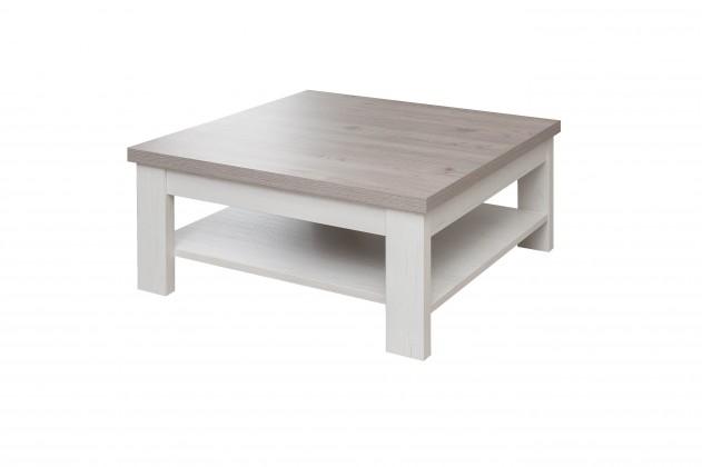 Drevené konferenčné stolíky Konferenčný stolík Semi - Typ 65 (pino aurelio/dub nelson)