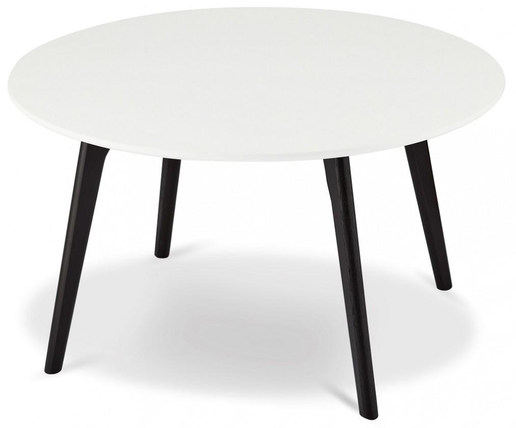 Drevené konferenčné stolíky Konferenčný stolík Sens (biela, čierna)