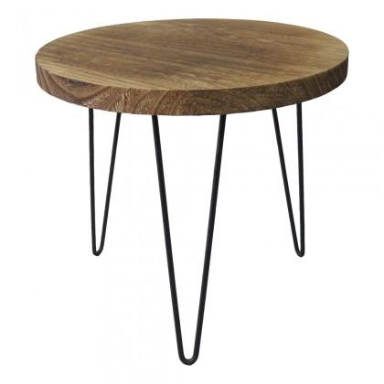 Drevené konferenčné stolíky Konferenčný stolík Shape 34x31x34 (svetlé drevo)