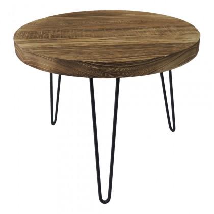 Drevené konferenčné stolíky Konferenčný stolík Shape 45x36x45 (svetlé drevo)