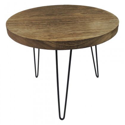 Drevené konferenčné stolíky Konferenčný stolík Shape 50x42x50 (svetlé drevo)