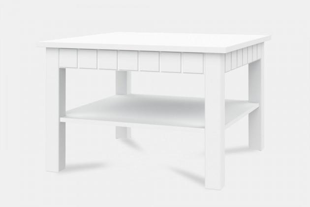 Drevené konferenčné stolíky Konferenčný stolík Tampere-Typ 40 (biela arctic)