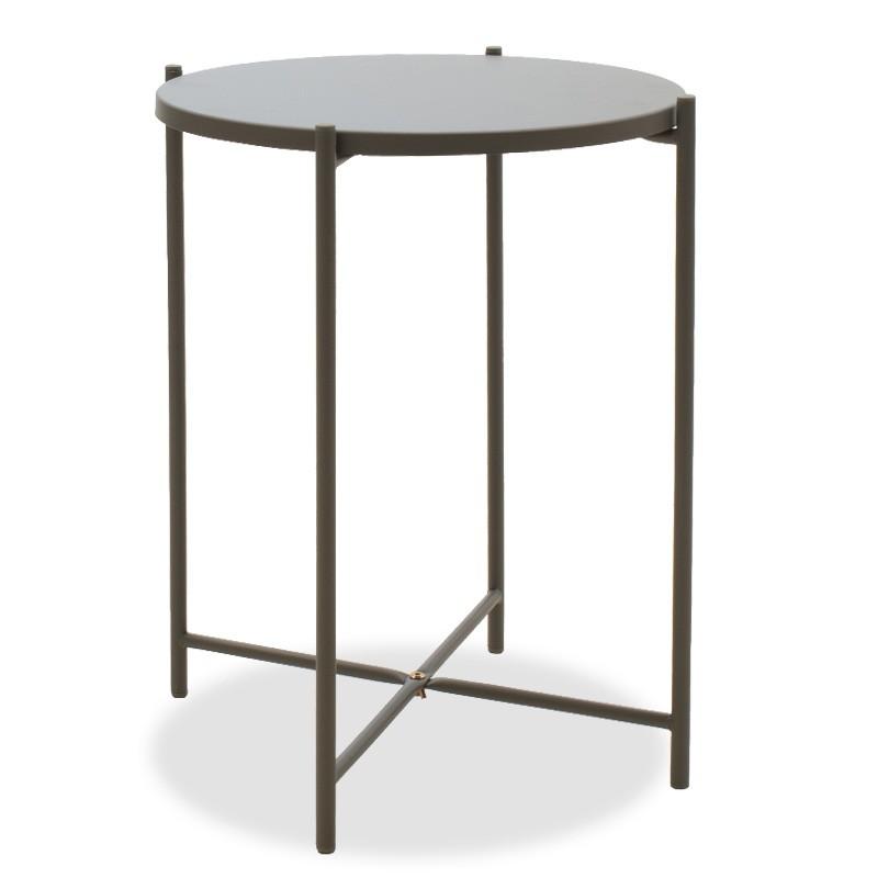 Drevené konferenčné stolíky Konferenčný stolík Verdel (sivá)
