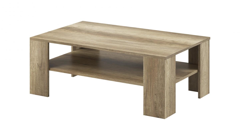 Drevené konferenčné stolíky Sky - Konferenčný stolík, ABS (country sivá)