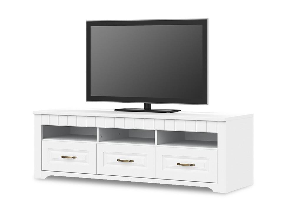 Drevené TV stolíky TV stolík Tampere-Typ 32 (biela arctic)