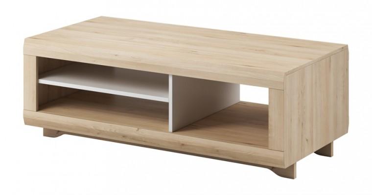 Drevený Avallon - Konferenčný stolík (buk ibsen/biela)