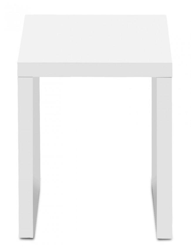 Drevený Cool - Konferenčný stolík 327233 (biela)