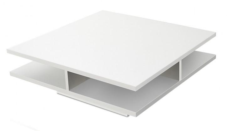 Drevený Game plus - konferenčný stolík (biela)