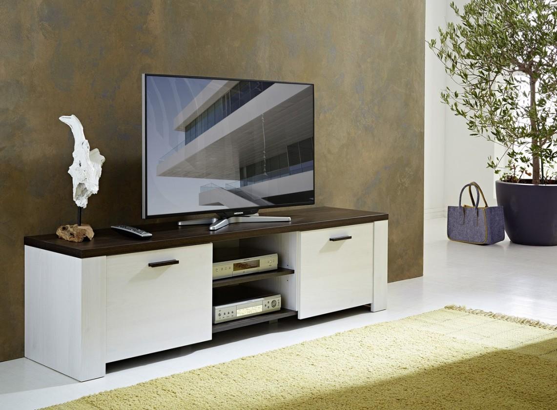 Drevený GW-Havanna - TV stolík (smrekovec / dub havana)