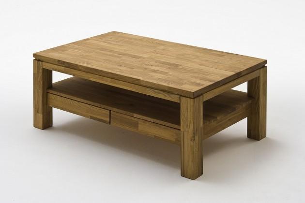 Drevený Konferenčný stolík Alkor - 115x45x70 (dub, hnedá)