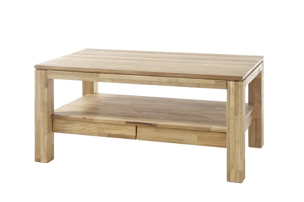Drevený Konferenčný stolík Alkor - 115x54x70 (dub, hnedá)