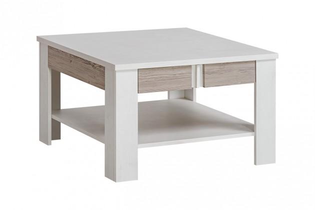 Drevený Konferenčný stolík Alvo (andersen white pine/andersen beige)