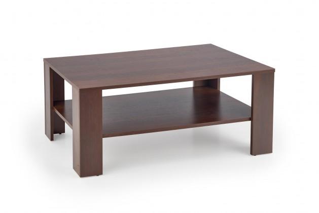 Drevený Konferenčný stolík Kwadro (čierny orech)
