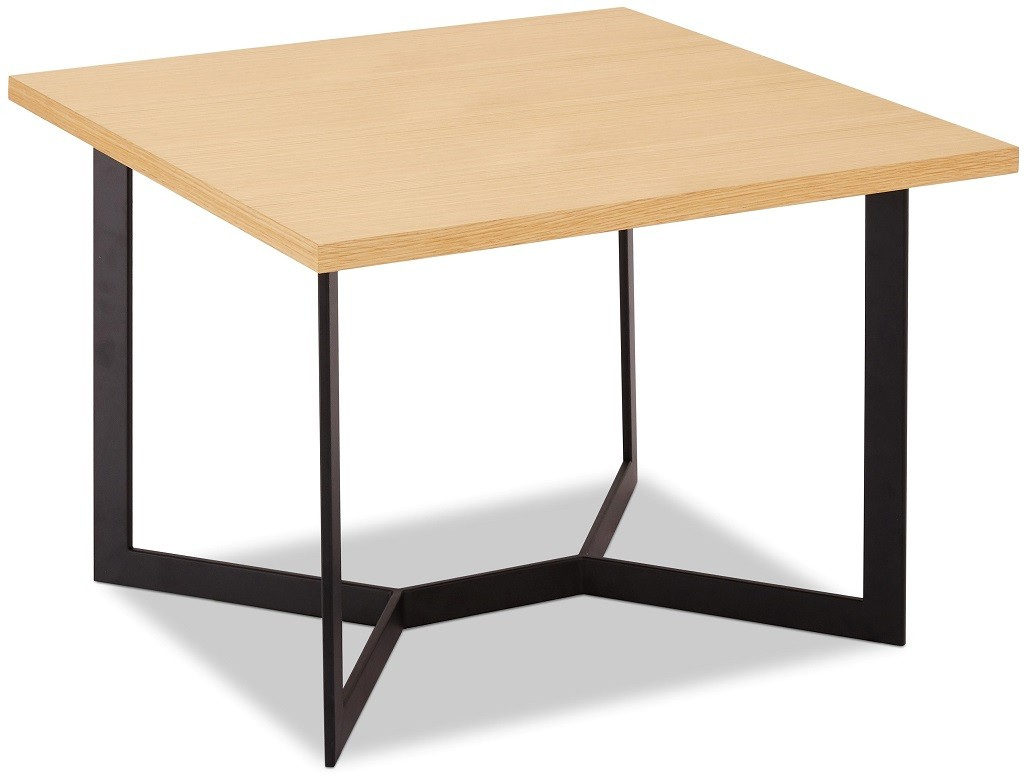 Drevený Konferenčný stolík Lure (dub, čierna)