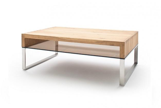 Drevený Konferenčný stolík Maren - 110x39x70 (dub, hnedá)