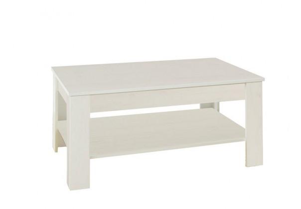 Drevený Konferenčný stolík Nive - obdĺžnik (alpská biela)