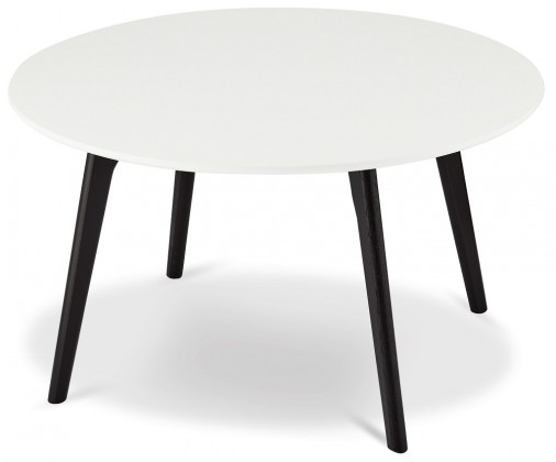Drevený Konferenčný stolík Sens (biela, čierna)