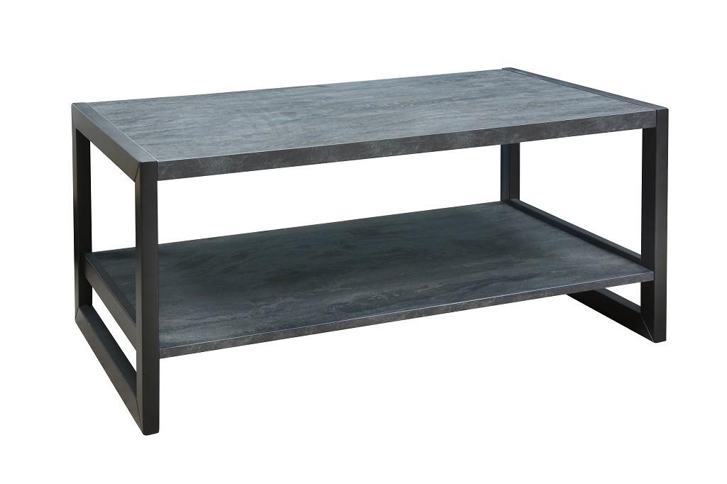 Drevený Konferenčný stolík ST202004 (buk/buk čierny)