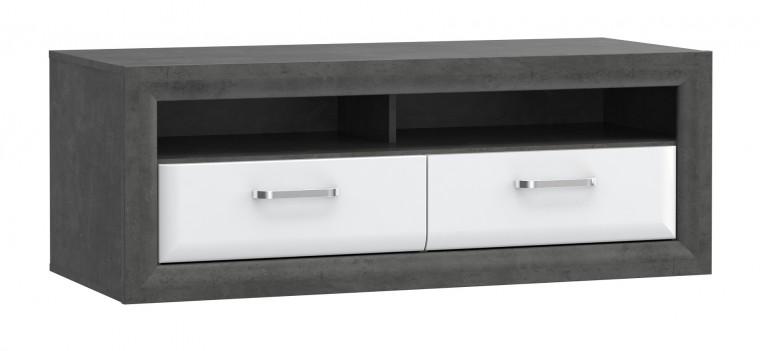 Drevený Lennox - TV stolík (C275)