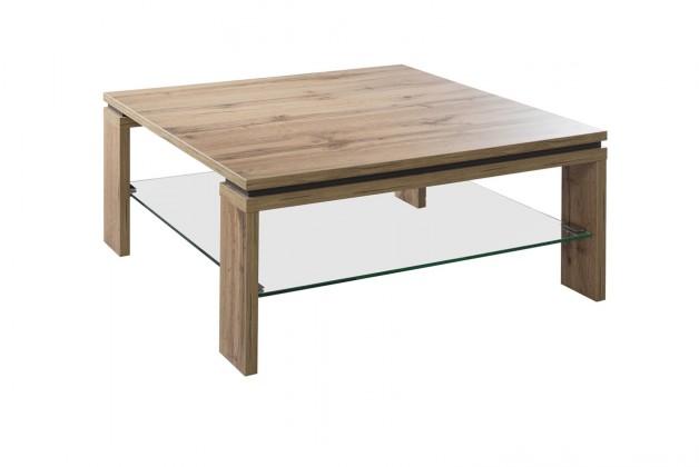 Drevený Lilly - Konferenčný stolík štvorcový (dub wotan)