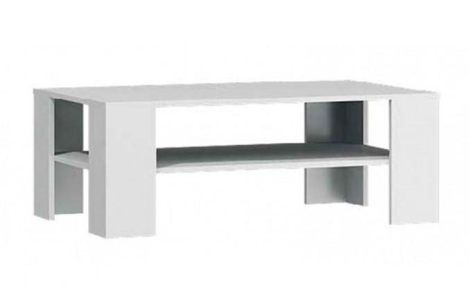 Drevený Lino - Konferenčný stôl (biela)