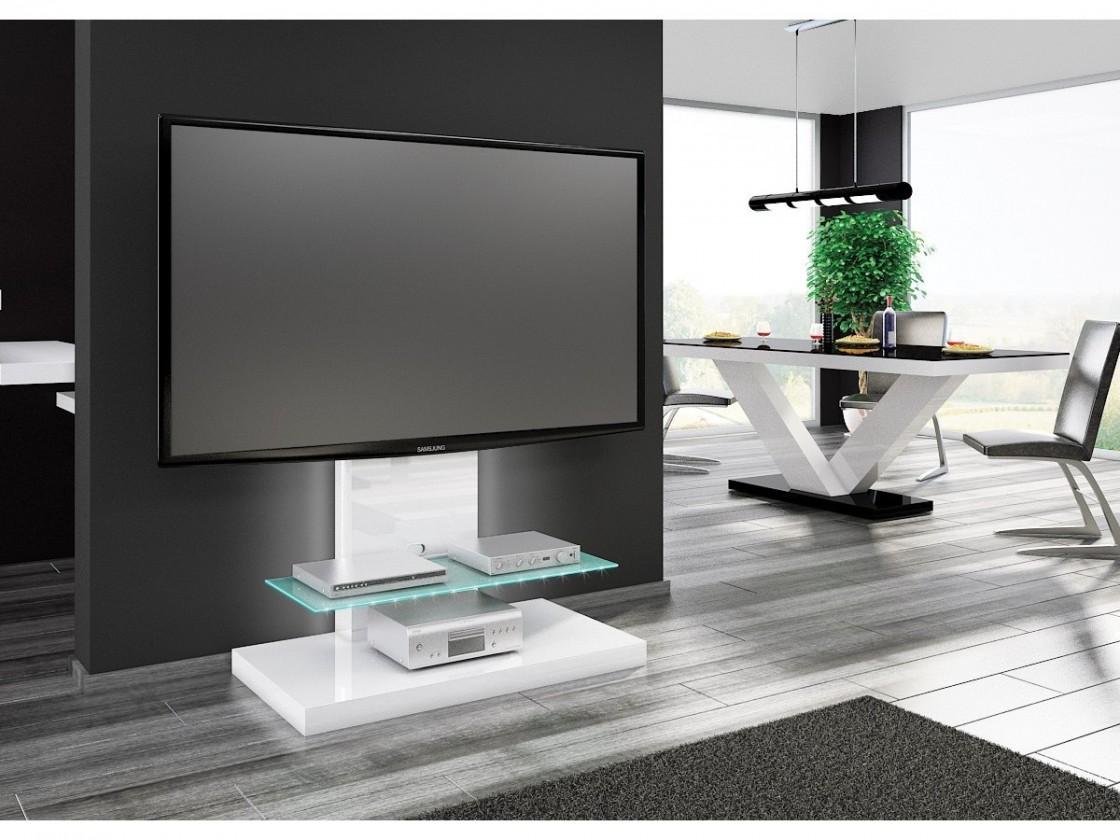 Drevený Marino max-TV stolek s držákem