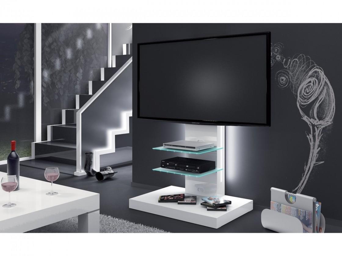 Drevený Marino - TV stolek s držákem