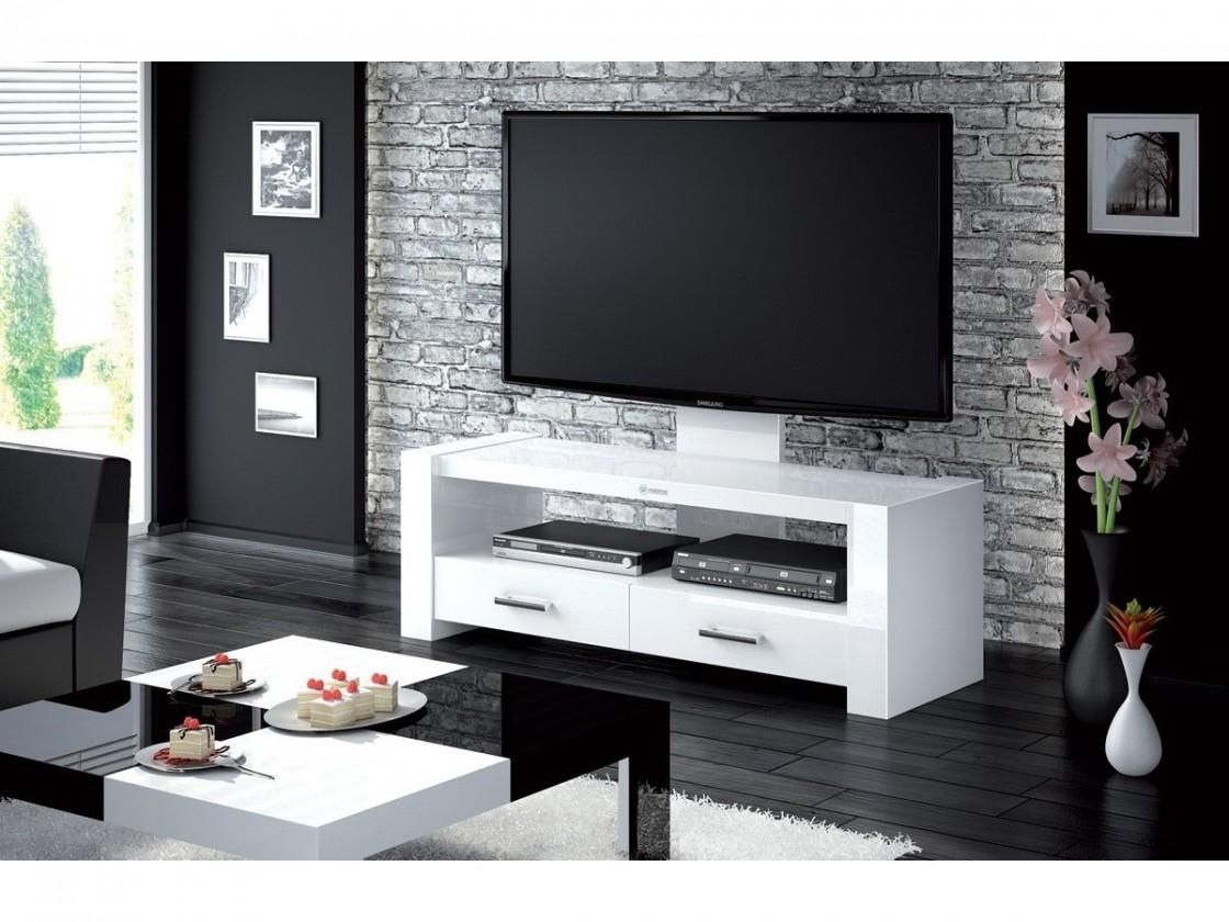 Drevený Monaco - TV stolek s držákem