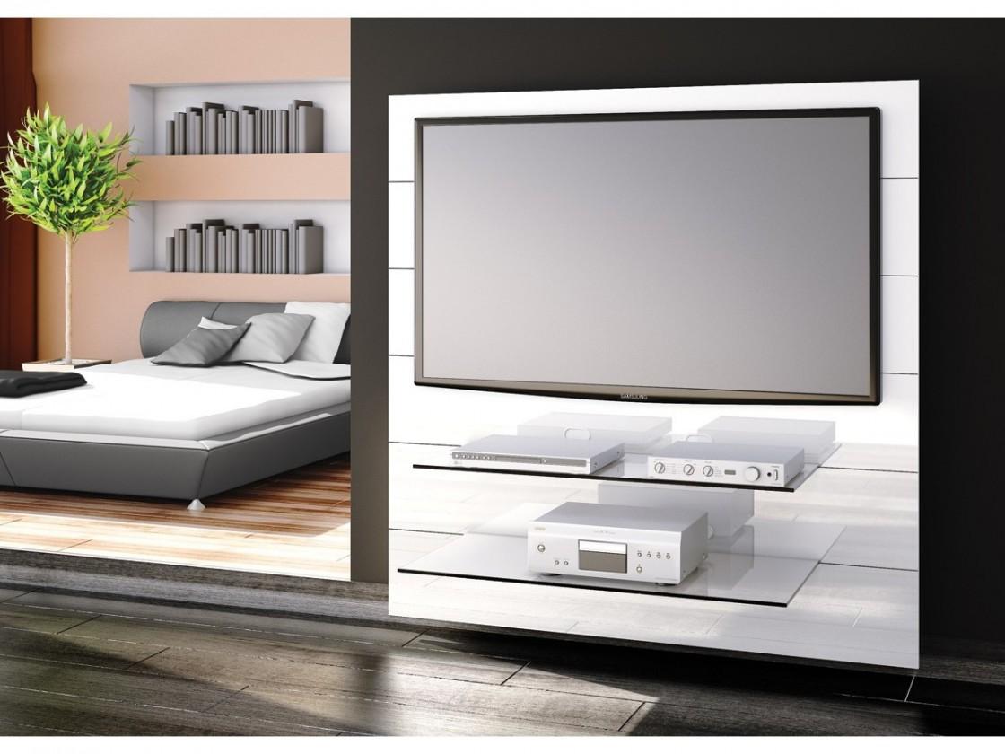 Drevený Panorama 2 - TV stolík s držiakom