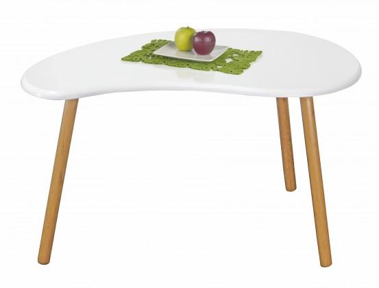 Drevený Spring 1 - Konferenčný stolík (biela)