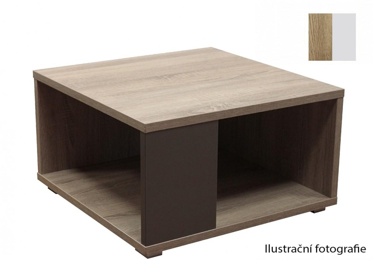 Drevený Squat(san remo rustic /biela arctic)