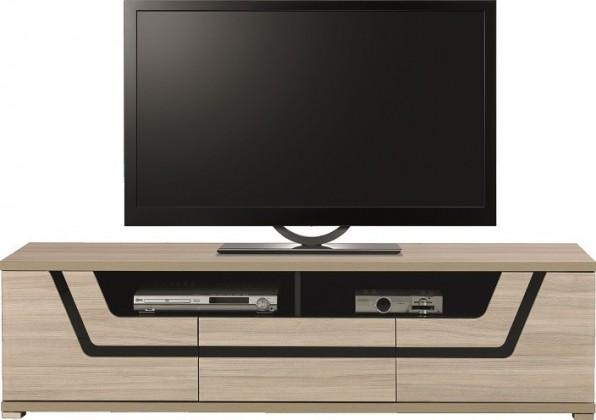 Drevený Tes - TV komoda TS 1 (brest, korpus a fronty)