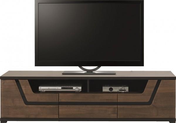 Drevený Tes - TV komoda TS 1 (ořech, korpus a fronty)