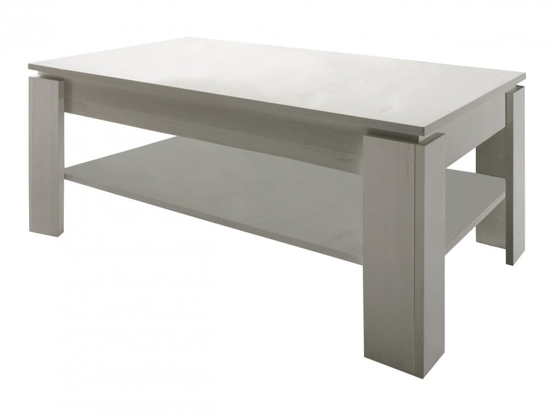 Drevený Universal - Konferenčný stolík (pinia biela)