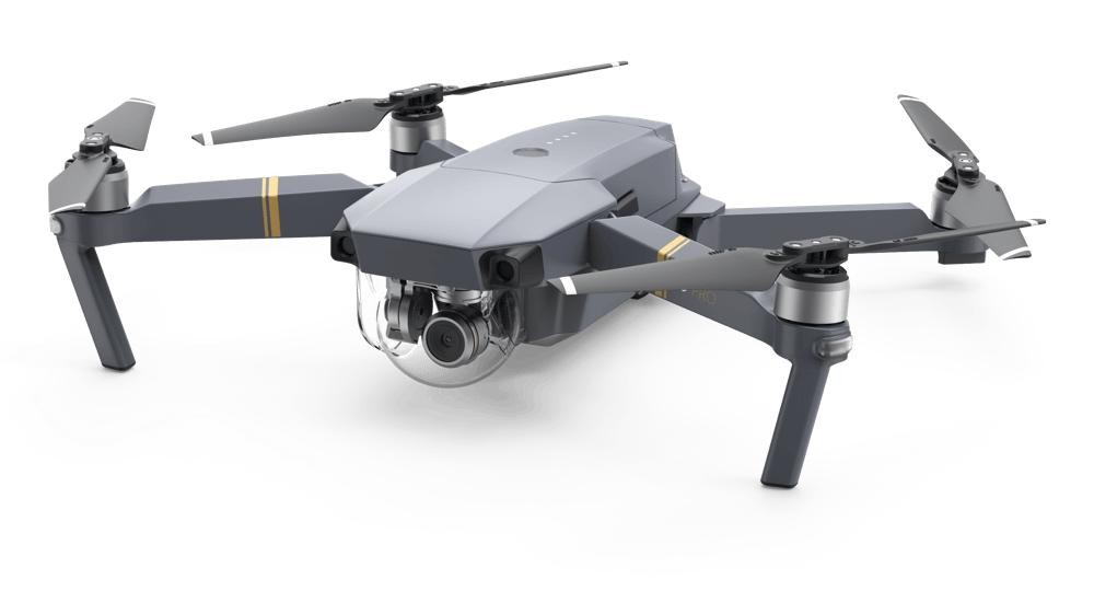 Drony DJI dron Mavic Pro - kvadrokoptéra Combo , DJIS0200C NEKOMPLETNÉ