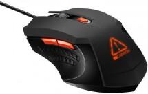 Drôtová myš Canyon CND-SGM01RGB, herná, podsvietená, čierna