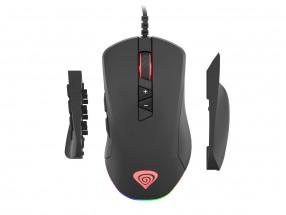 Drôtová myš Genesis Xenon 770, herná, čierna