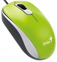 Drôtová myš Genius DX-110, 1000 dpi, zelená