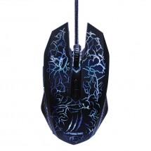 Drôtová myš Hama uRage Illuminated2, herná, LED diódy, čierna