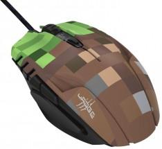 Drôtová myš Hama uRage Morph - Bloxx, 6 tlačidiel, zelená/hnedá + ZADARMO podložka pod myš Olpran