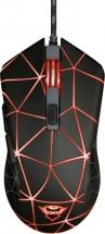 Drôtová myš Trust GXT 133 Locx, herná, čierna + ZADARMO podložka pod myš Olpran