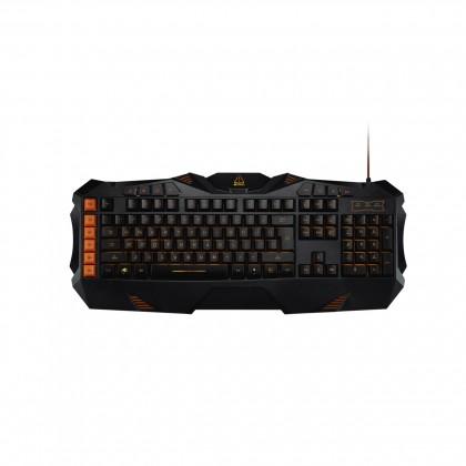 Drôtové klávesnice Canyon CND-SKB3-SK hráčska klávesnica, podsvietená